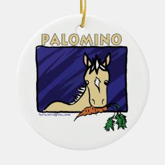 Palomino Ceramic Ornament