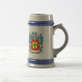 Palomino Coat of Arms - Family Crest 18 Oz Beer Stein