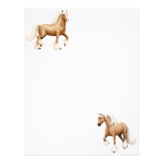 Palomino Draft Horses Letterhead