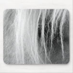Palomino en blanco y negro tapete de ratón