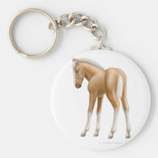 Palomino Foal Keychain