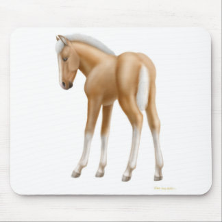 Palomino Foal Mousepad