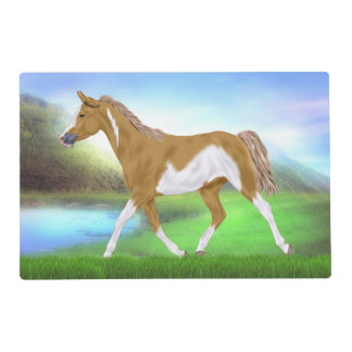 Palomino Frame Overo Paint Horse Placemat
