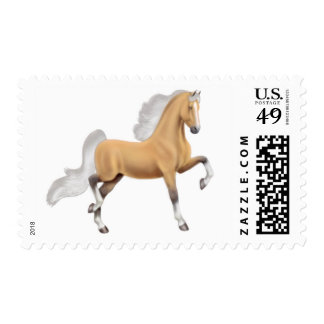Palomino Gaited Horse Postage
