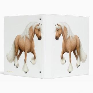 Palomino Gypsy Cob Horse Avery Binder