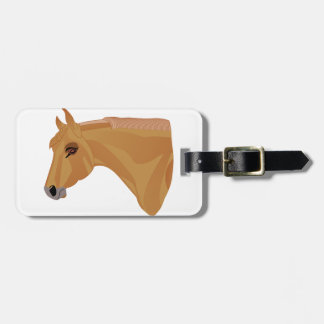 Palomino Head Tag For Luggage