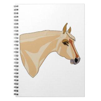 Palomino Head Notebook