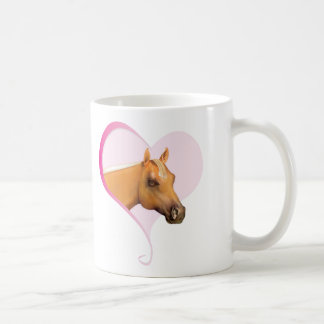 Palomino Heart Coffee Mug