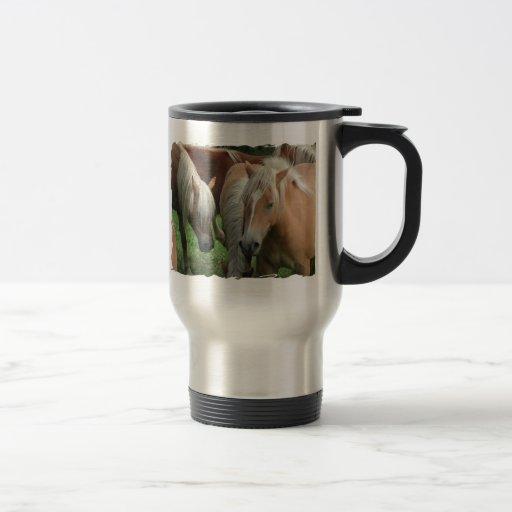 Palomino Herd Stainless Travel Mug