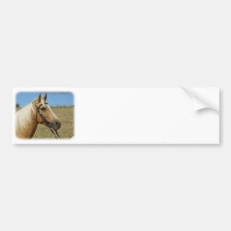 Palomino Horse 9R015D-184 Bumper Sticker