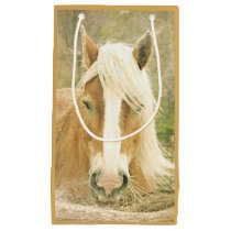 Palomino Horse Beautiful Horses Animals Equine Small Gift Bag