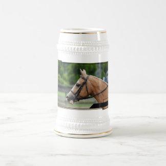 Palomino Horse Beer Stein 18 Oz Beer Stein