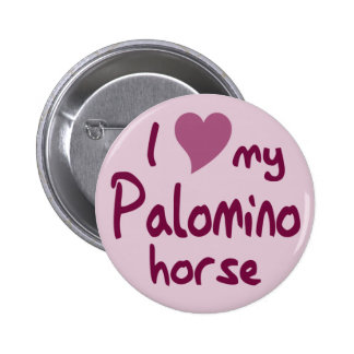 Palomino horse buttons