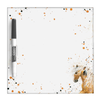 Palomino Horse by BihrLe Dry Erase Board