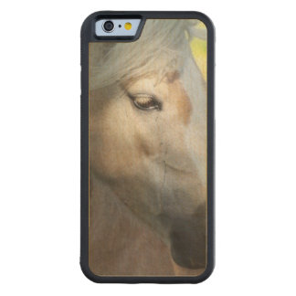 Palomino Horse Carved® Maple iPhone 6 Bumper Case