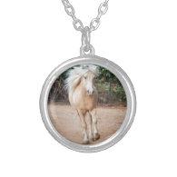 Palomino Horse Custom Necklace