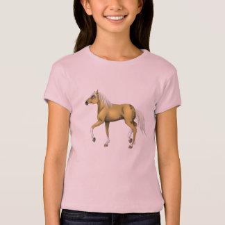 Palomino Horse Girl T-Shirt