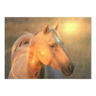 Palomino Horse Invitation