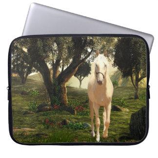 Palomino horse laptop sleeve