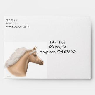 Palomino Horse Lovers Envelope