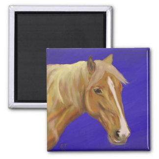 Palomino Horse Refrigerator Magnets