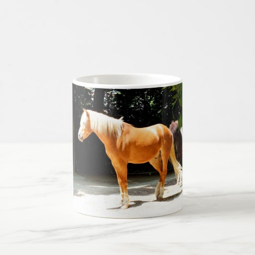 Palomino horse mug