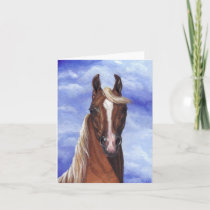 PALOMINO HORSE Note Card