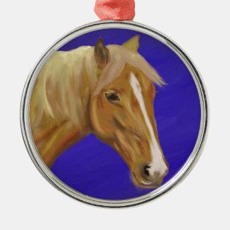 Palomino Horse Ornaments