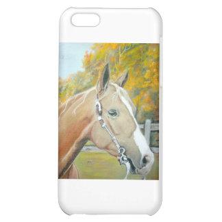 Palomino Horse pastel Case For iPhone 5C