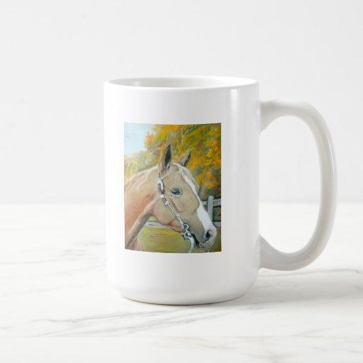 Palomino, Horse pastel Mugs
