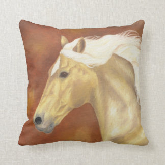 Palomino Horse pillow