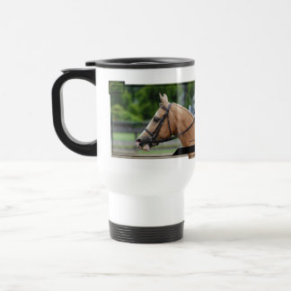 Palomino Horse Plastic Travel Mug