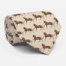 Palomino Horse Print Necktie