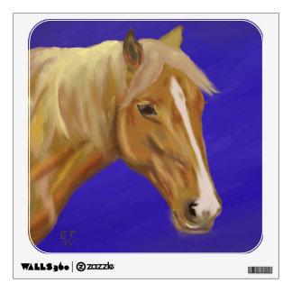 Palomino Horse Wall Decal