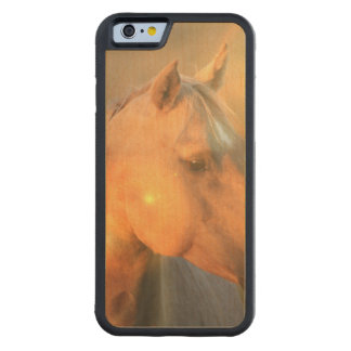 Palomino Horse Carved® Maple iPhone 6 Bumper