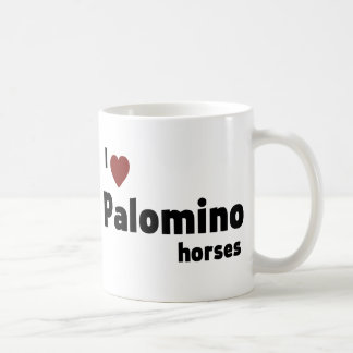 Palomino horses coffee mug
