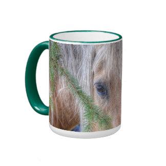 Palomino Horse's Eyes Photo Drinking Mug