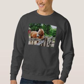 Palomino in Paddock Pull Over Sweatshirts