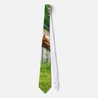 Palomino in Pasture Neck Tie