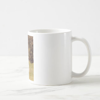 Palomino Paint horse gallops over a meadow Classic White Coffee Mug