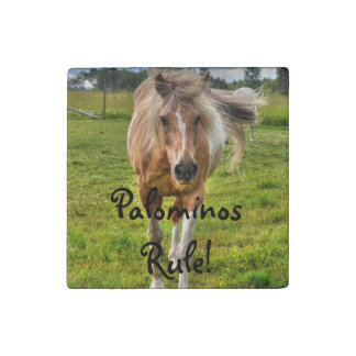 Palomino Paint Horse Horse-lovers Equine Photo Stone Magnet