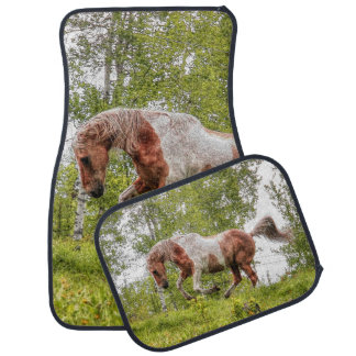 Palomino Horse Car Floor Mats Zazzle