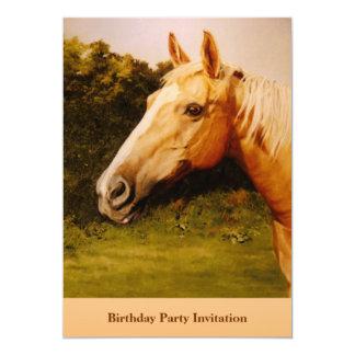 Palomino Party Invite