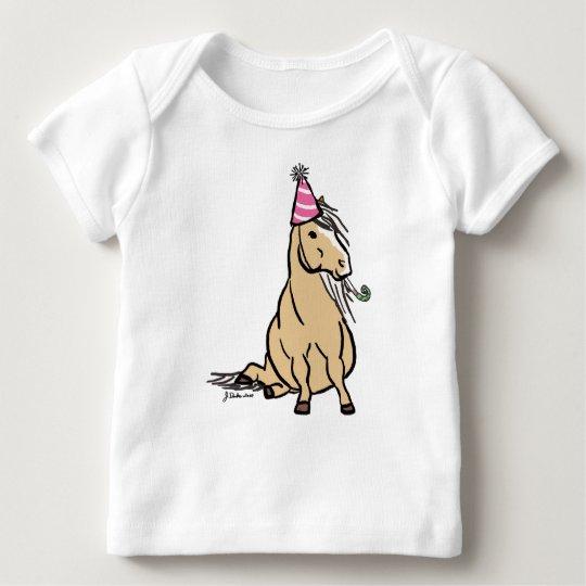 Palomino Party Pony Baby T-Shirt