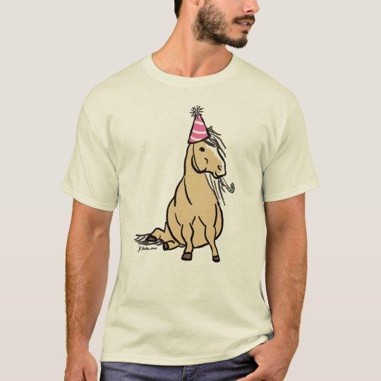 Palomino Party Pony T-Shirt