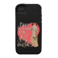 Palomino Paso Fino Heart Scroll Vibe iPhone 4 Covers