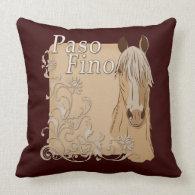 Palomino Paso Fino Style Pillows