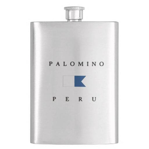 Palomino Peru Alpha Dive Flag Hip Flask