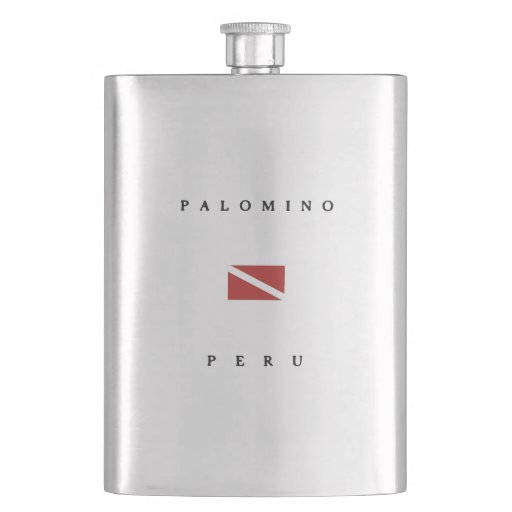 Palomino Peru Scuba Dive Flag