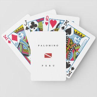 Palomino Peru Scuba Dive Flag Bicycle Poker Cards